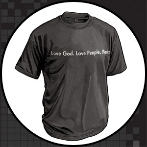 Love God. Love People. Period.
