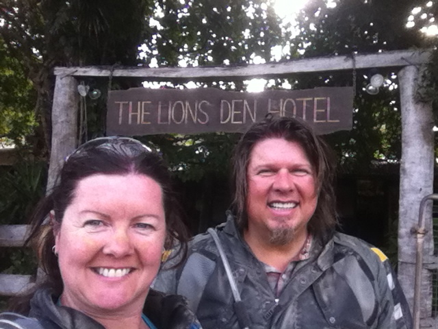 We made it to Lions Den!