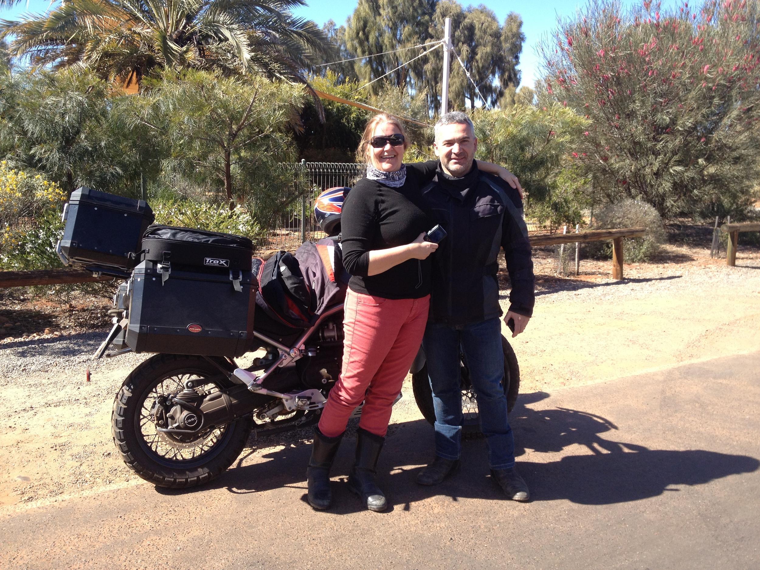 Chris, Brian & Moto Guzzi!!
