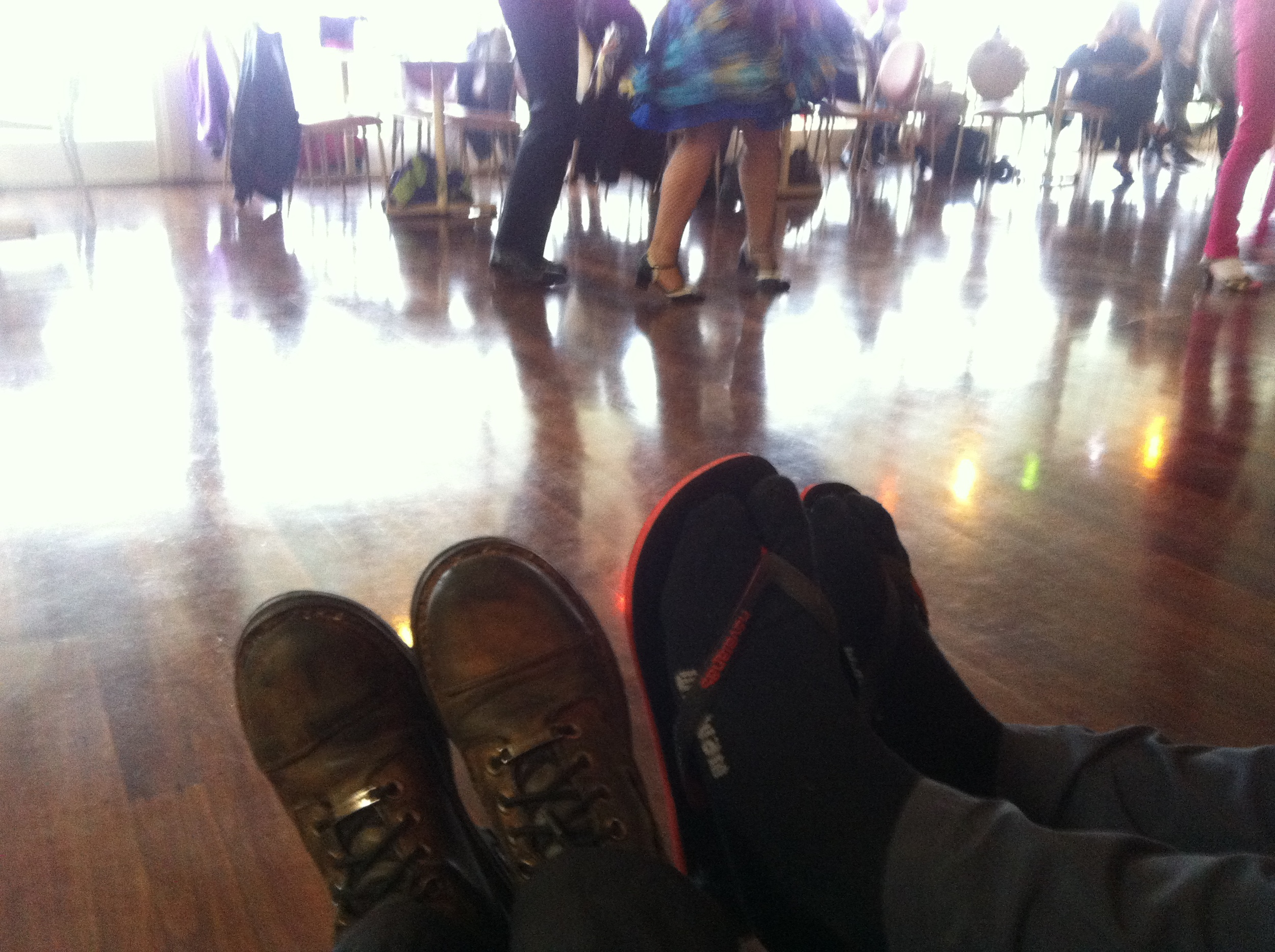 Our Boogie shoes!