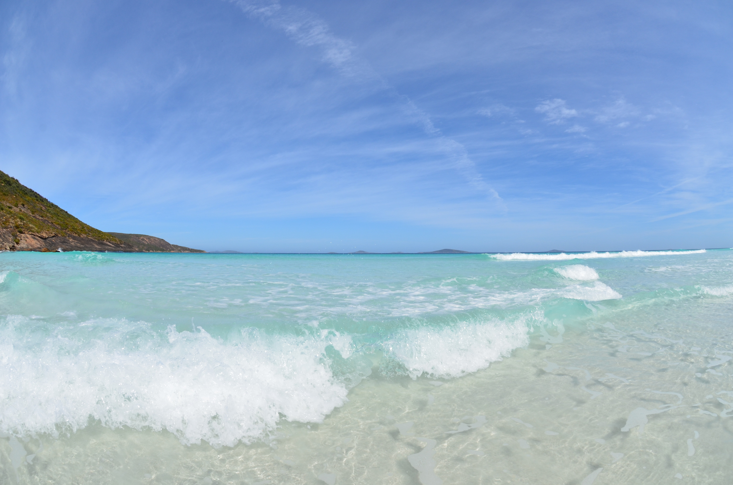 One more shot of this amazing warm water...Ahhh!