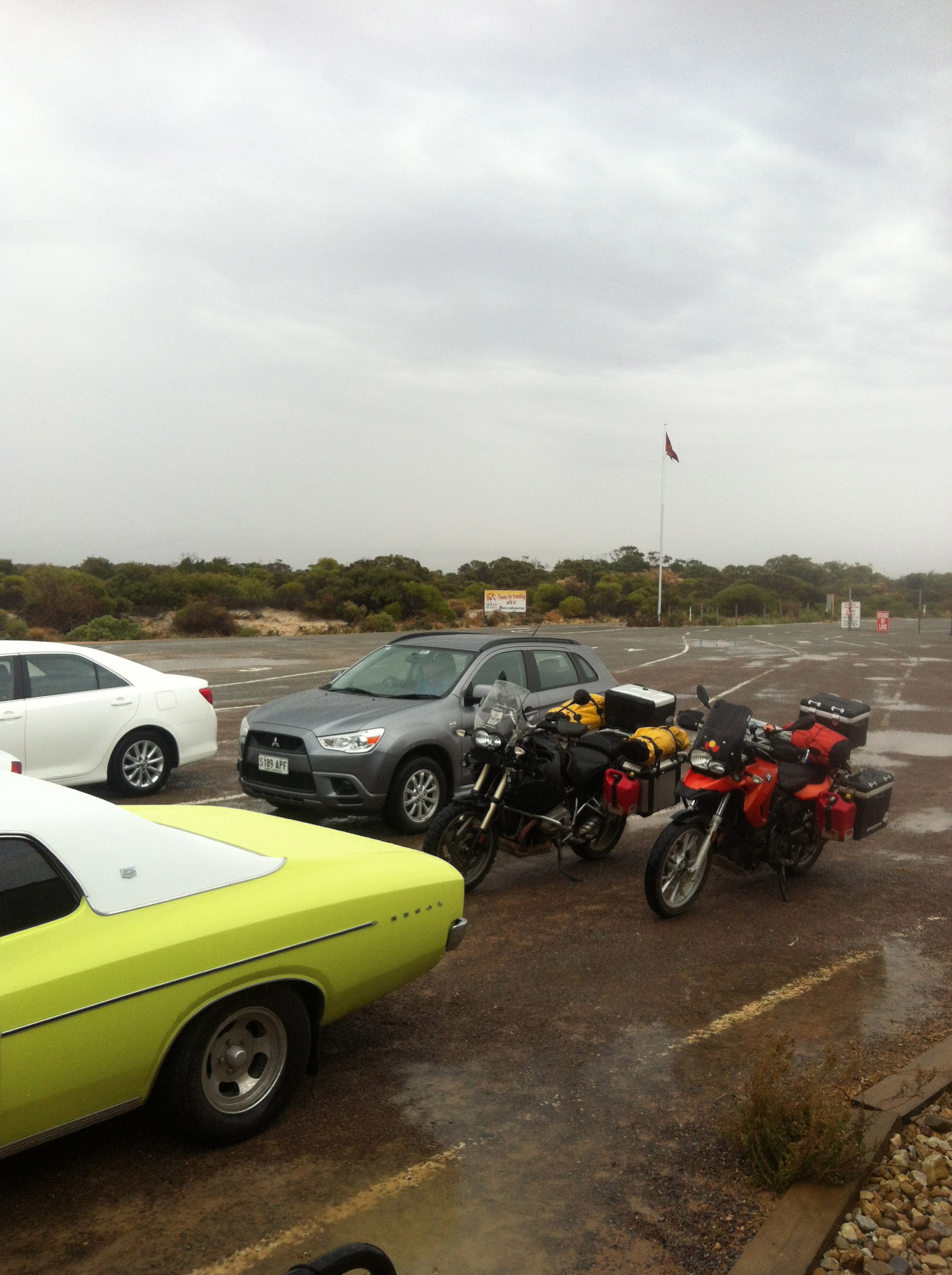 Waiting for the SeaSA ferry