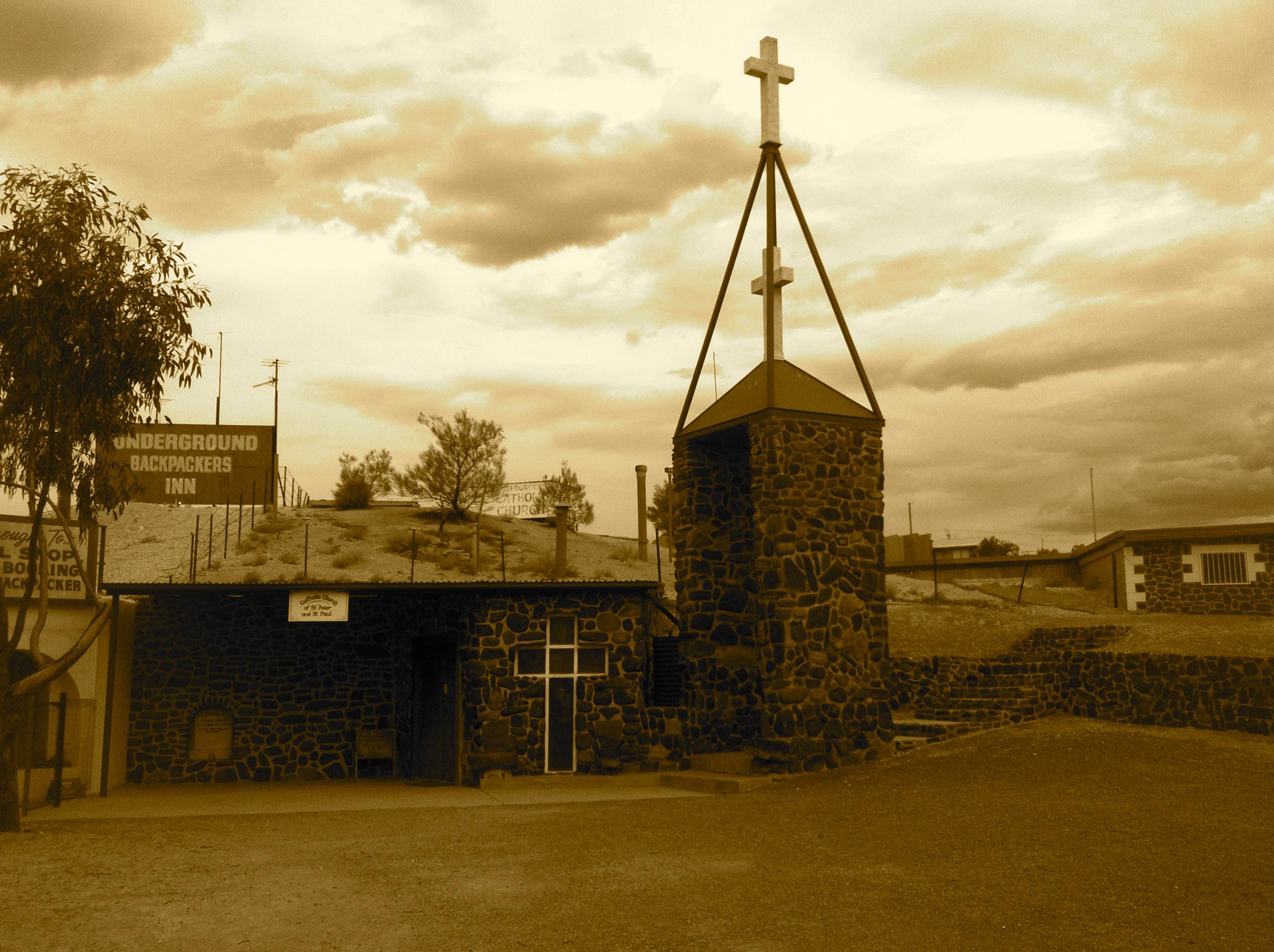 Dug-out church