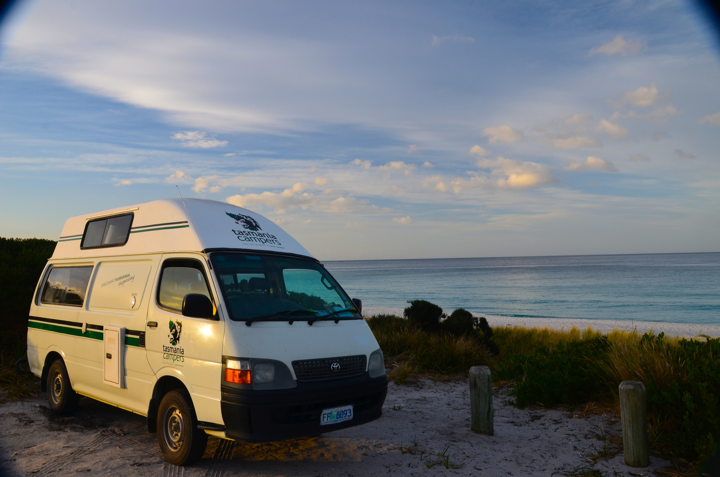 Our free beach camp for the night!....No complaining here!