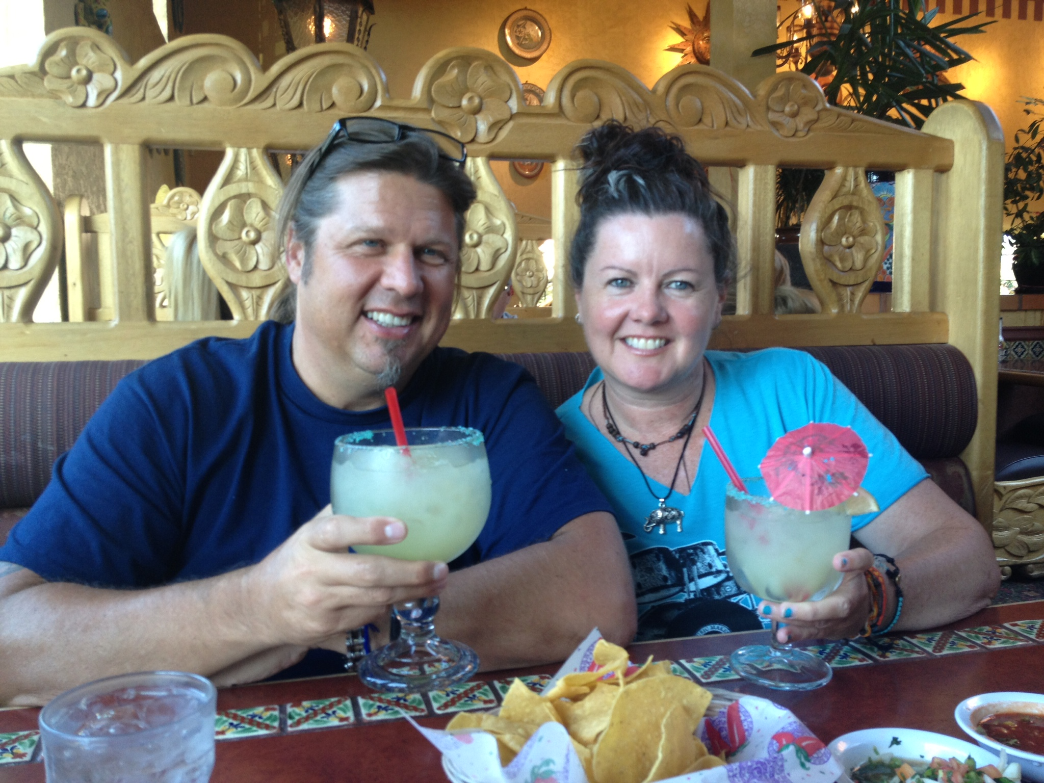"""A big """"Cheers"""" for a wonderful visit! Thanks for all of the delicious home cooking Karolyn, it was a fabulous treat !"""