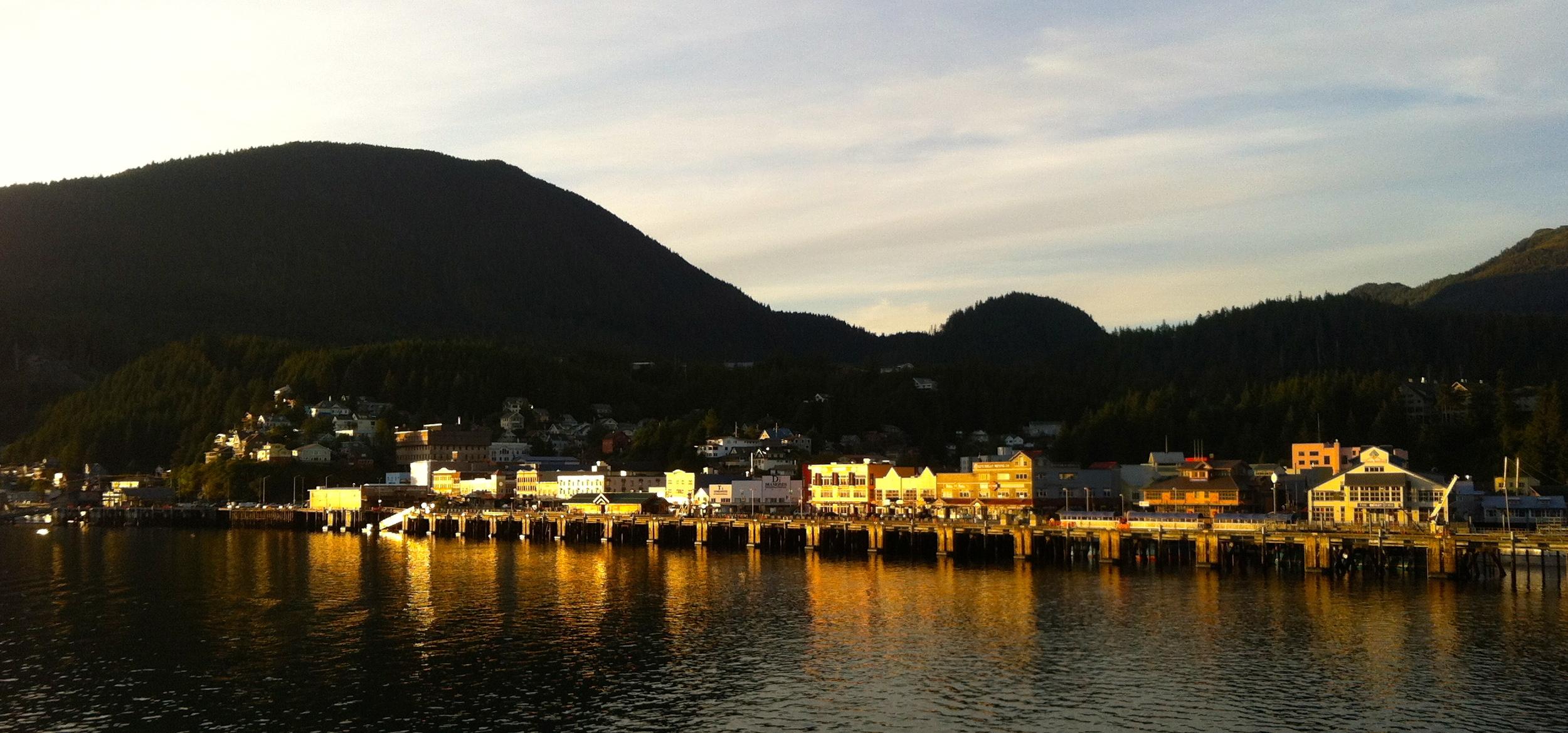 First stop Ketchikan, Alaska.