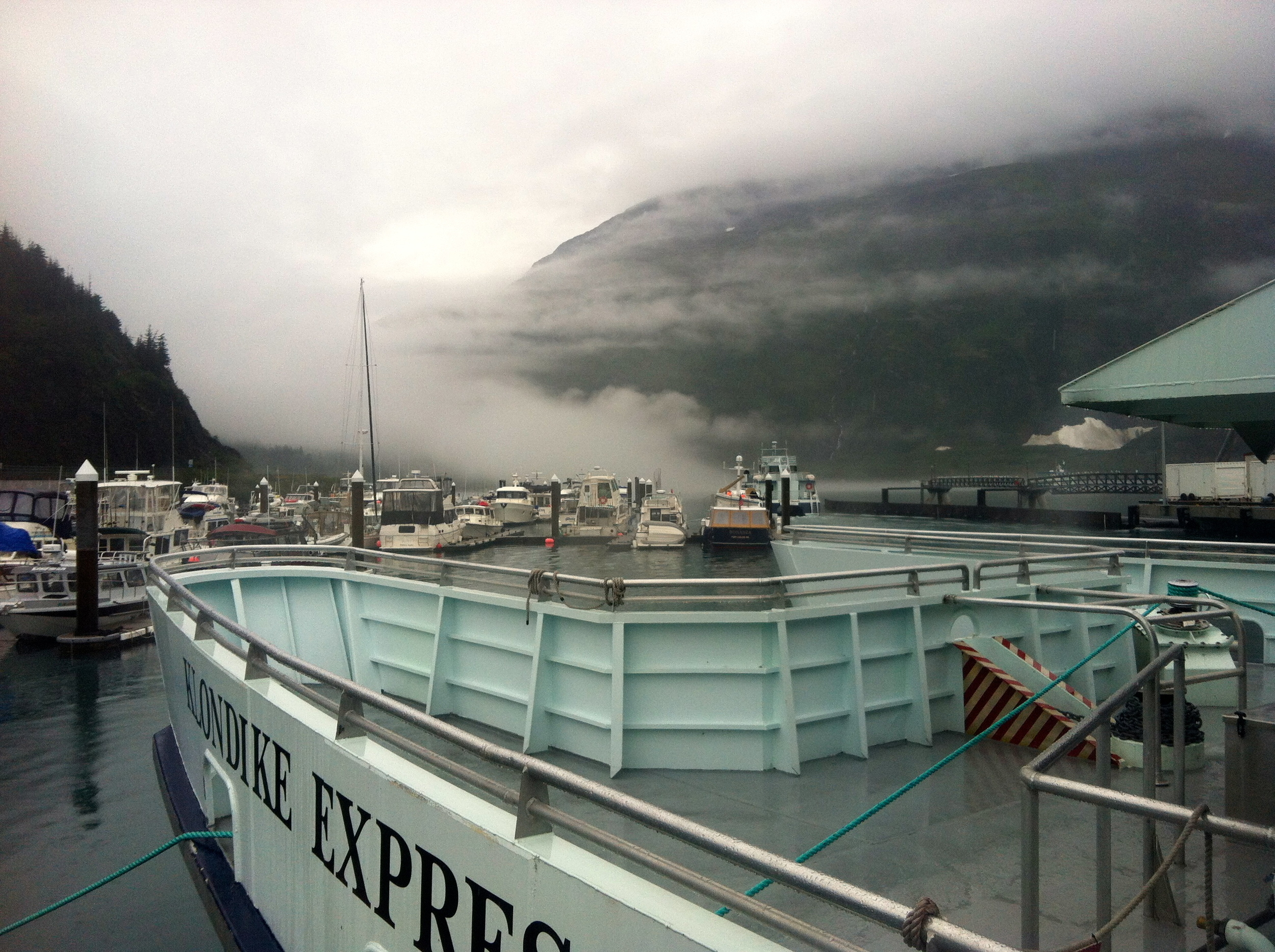 Klondike Express tour of Prince William Sound