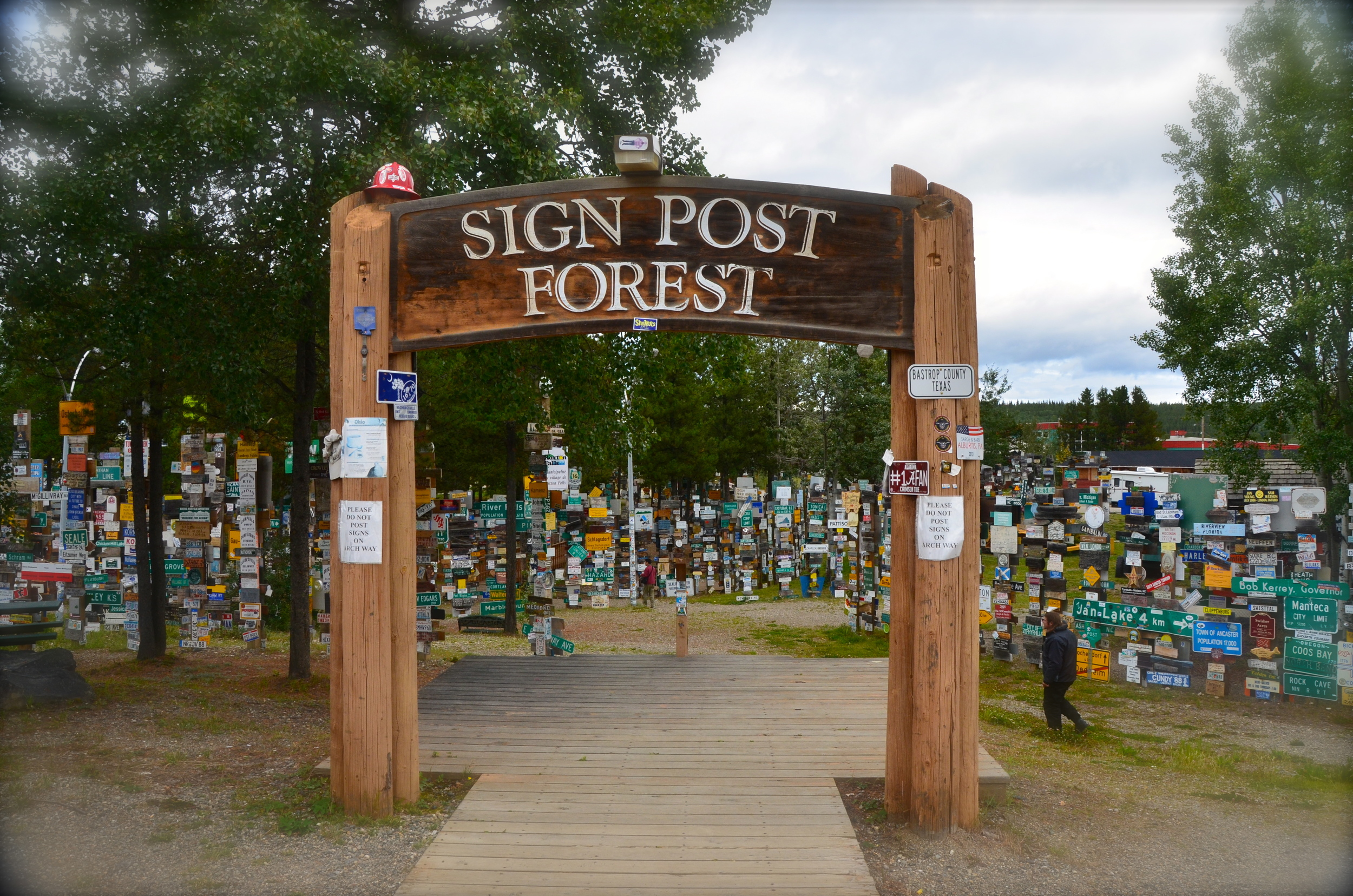 Sign Post Forest Watson Lake, Yukon Canada