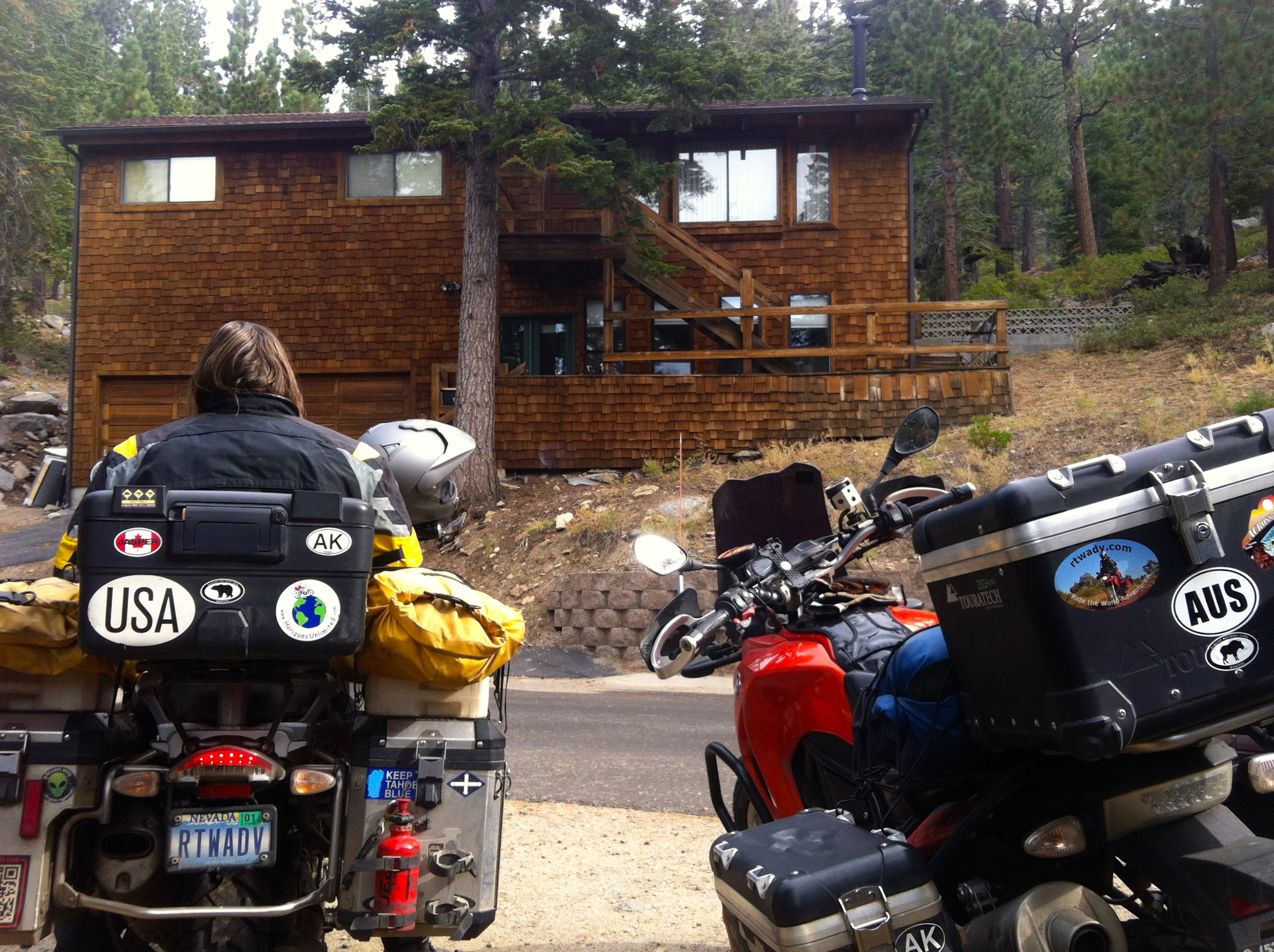 It is hard to believe that the bikes are back at Lake Tahoe!