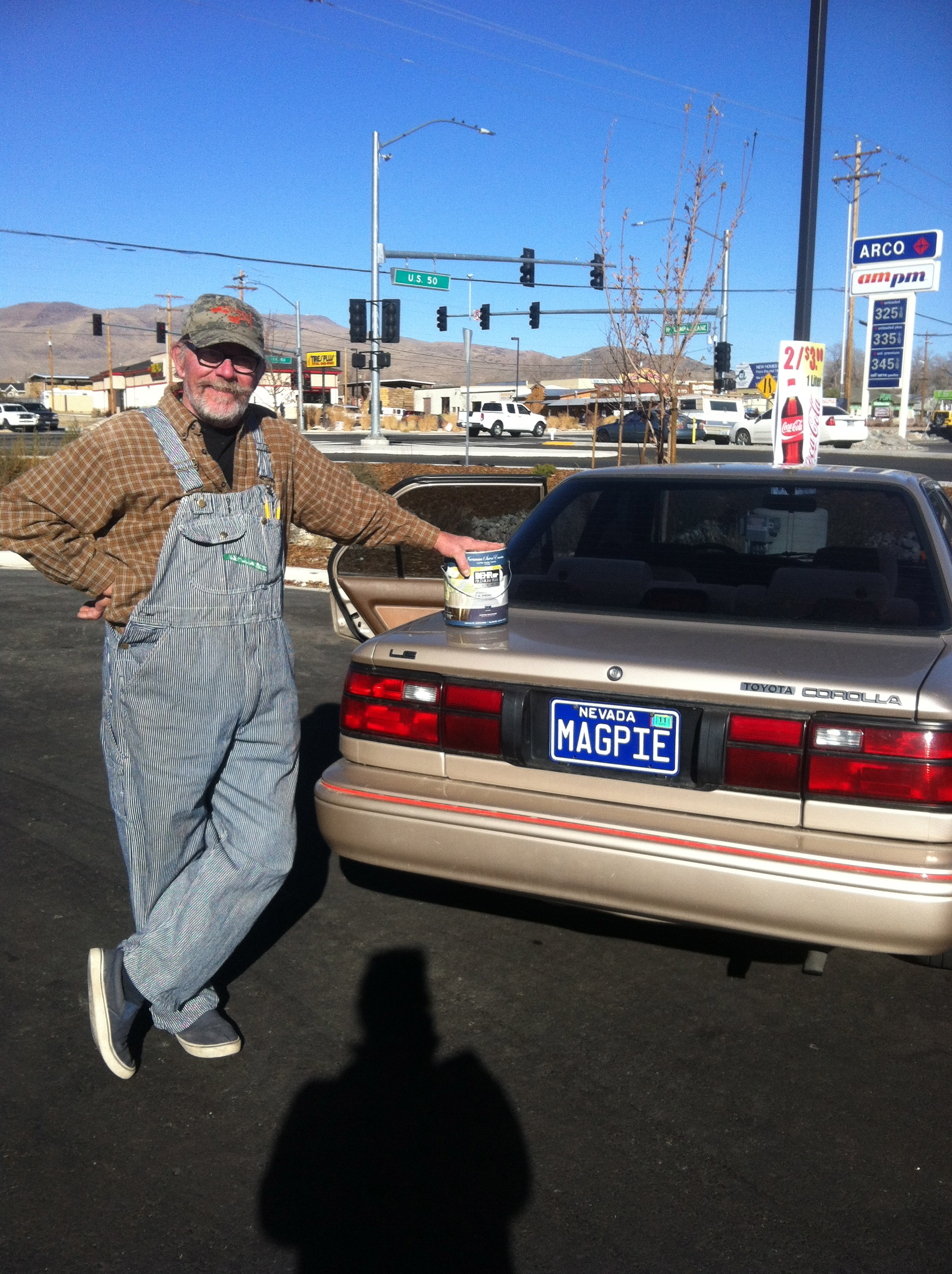 You can meet some great people when you sell stuff! Couldn't believe the  license plate! Nice to meet you Art!