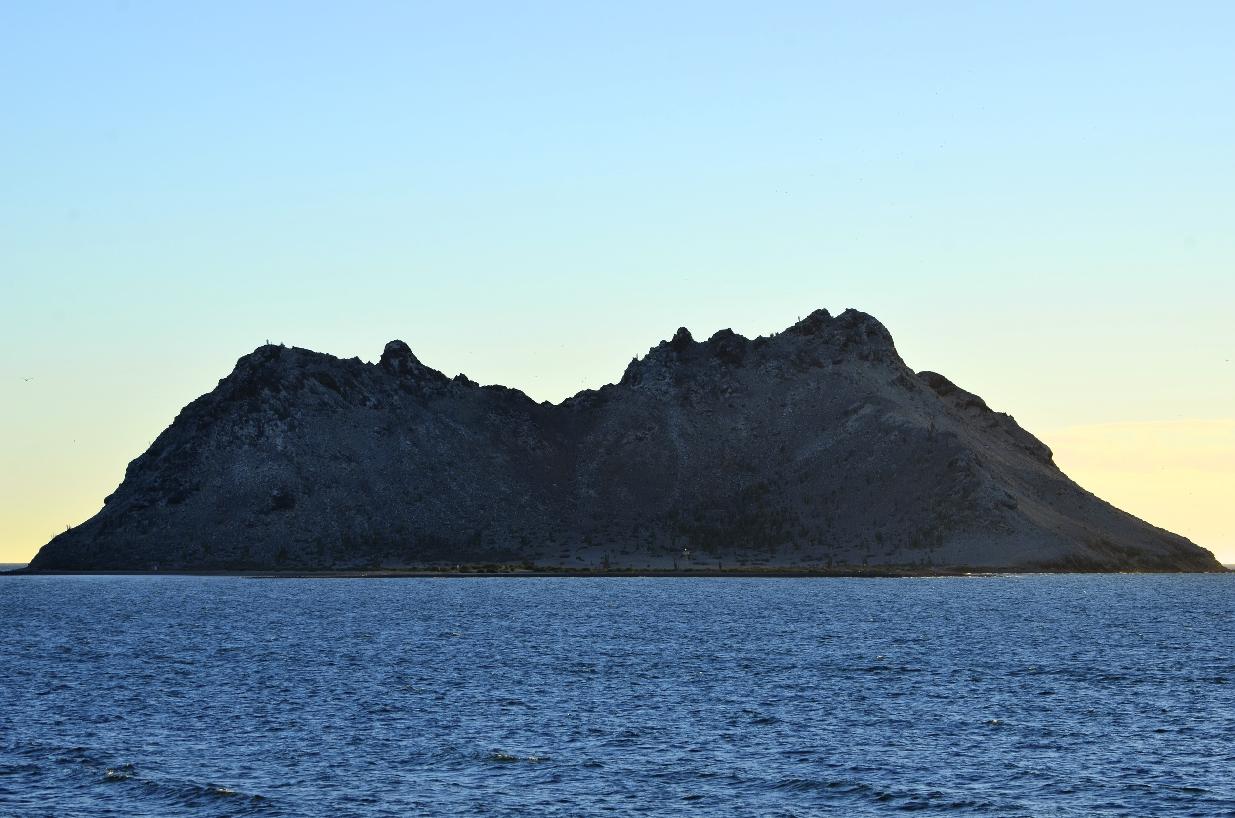 The Island of Alcatraz off Bahia de Kino's coast.