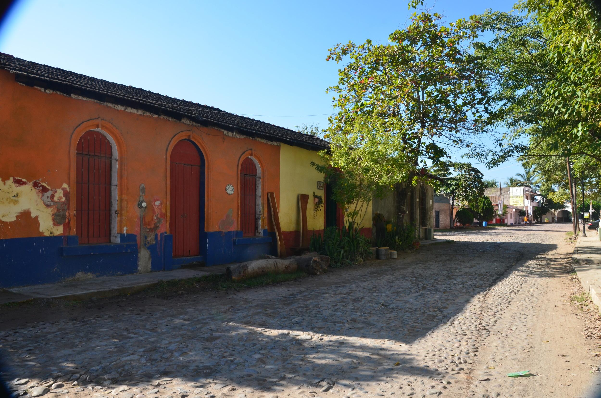 The streets of San Blas