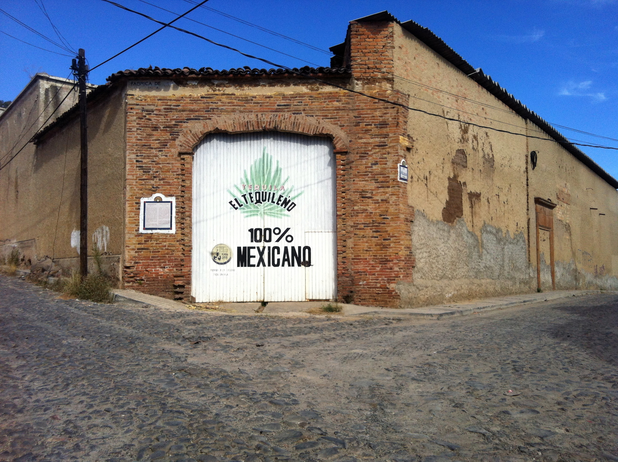 The Historical area of Tequila…some of the plants are now being restored.