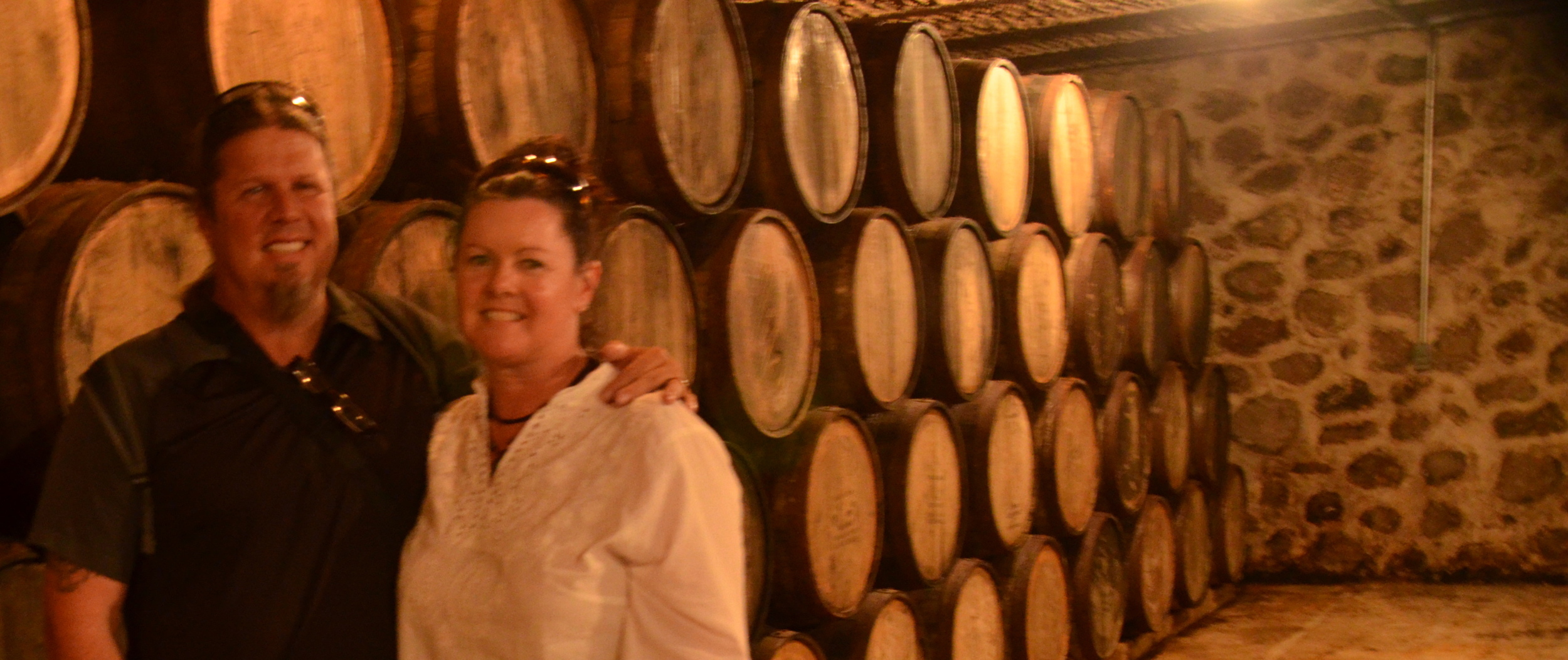 The aging cellar…for the anejo's and reporsado's.