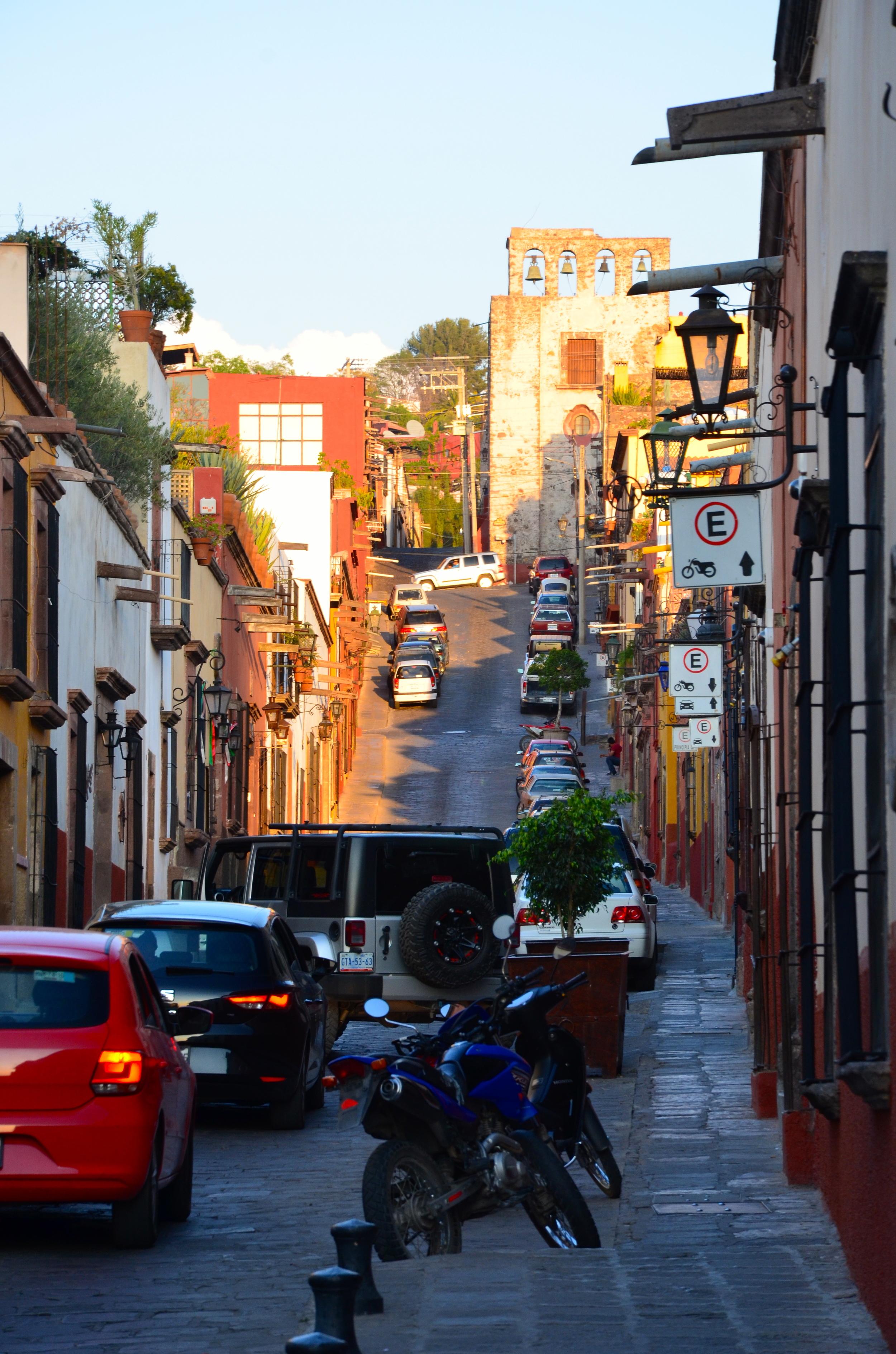 The streets of San Miguel de Allende