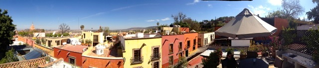 Pano from the roof