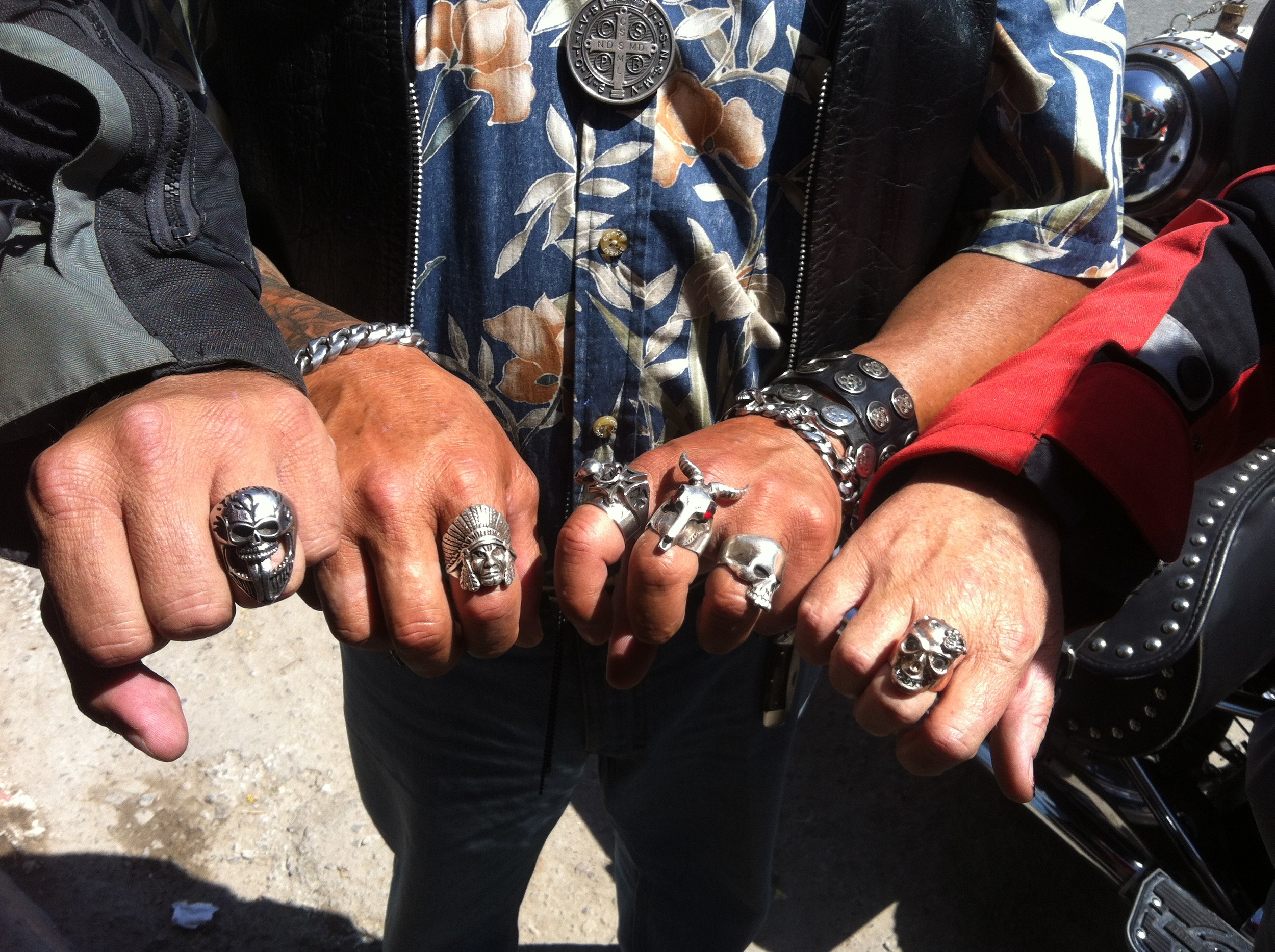 Our new rings!