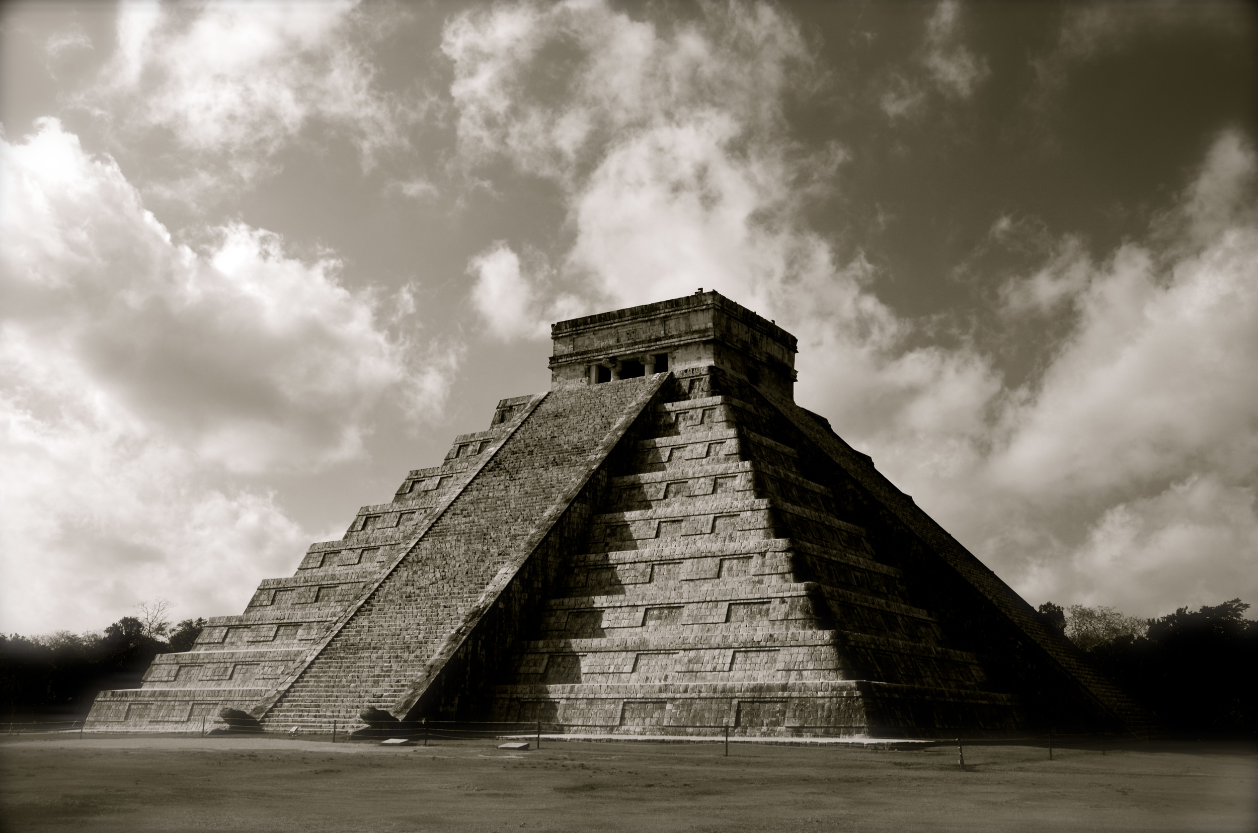 The Castillo Temple….The most recognized temple of Chichen Itza!  Still simply amazing!