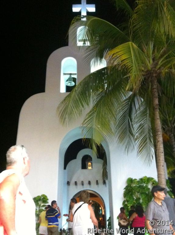 The church…still looks the same