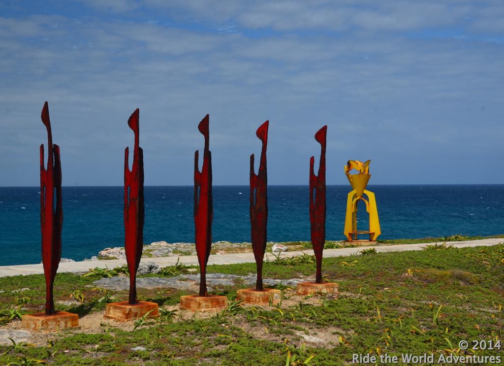 Sculpture Park, Punta Sur, South Point