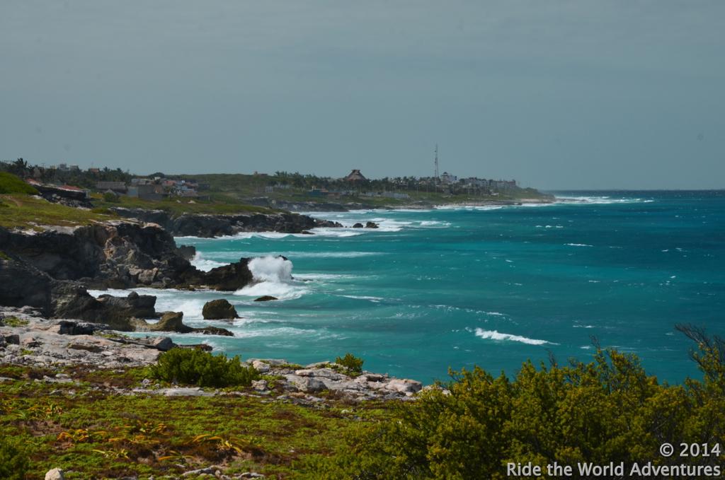 East coast of the island