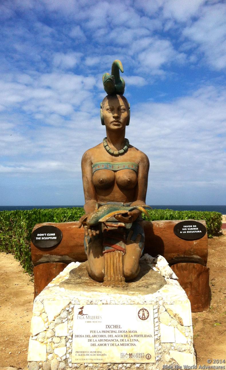 Ixchel…Isla's Goddess of Fertility