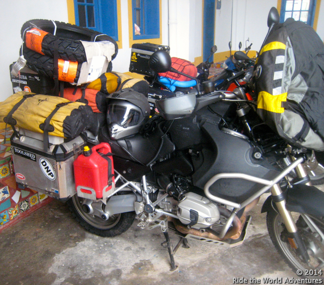 Packed up and ready to go….Thanks El Milargro!