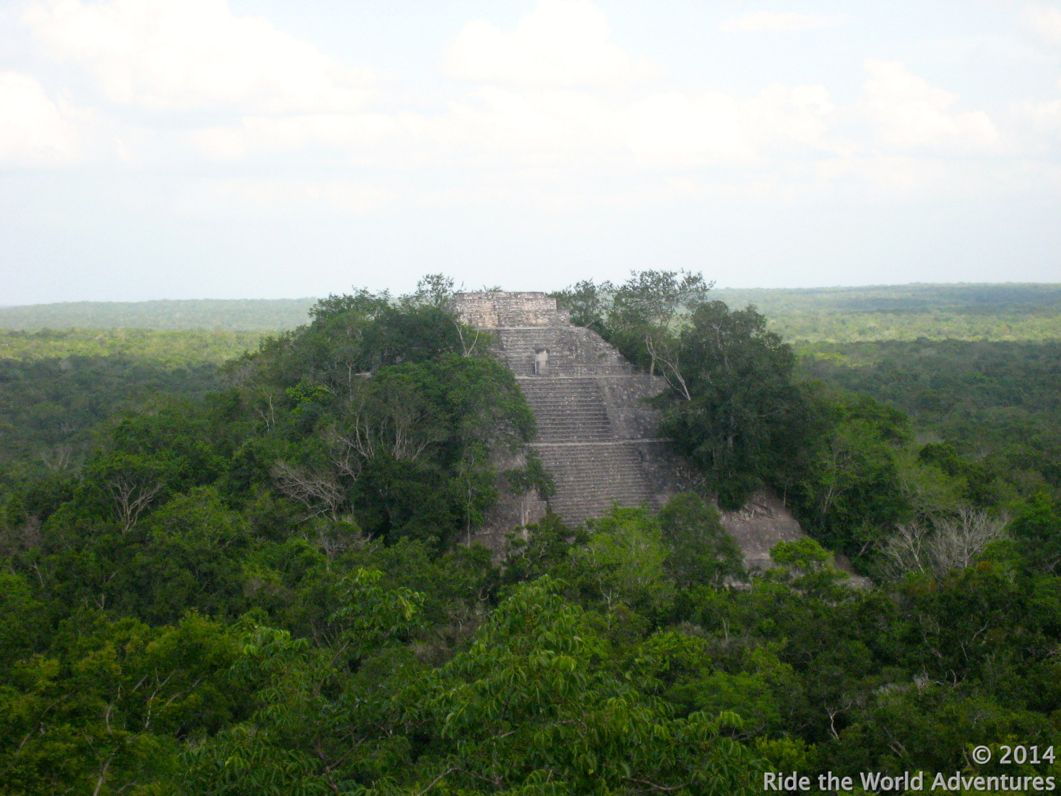You can almost see Tikal!