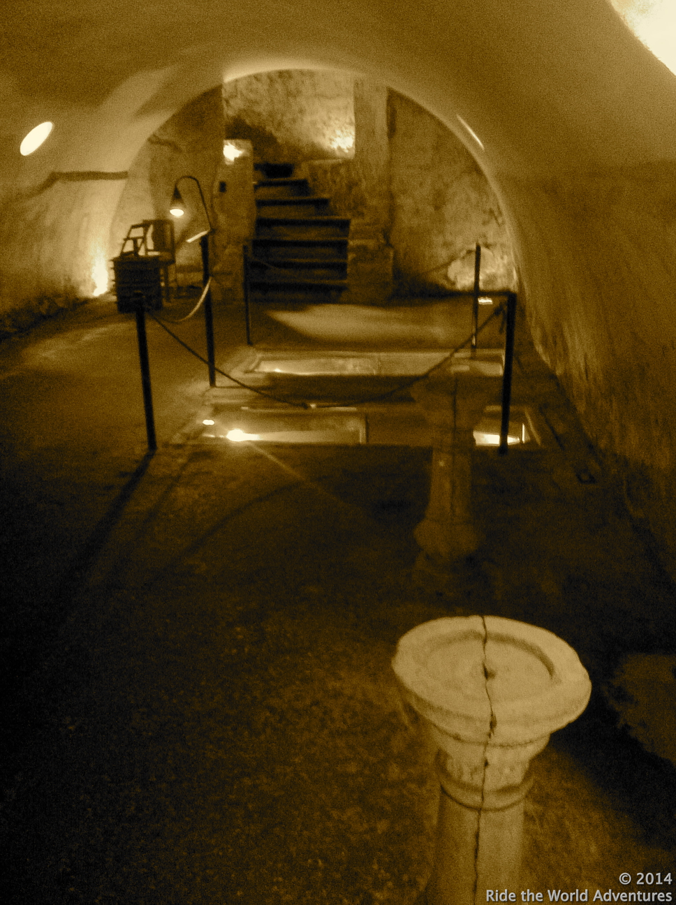 Underground burial sites