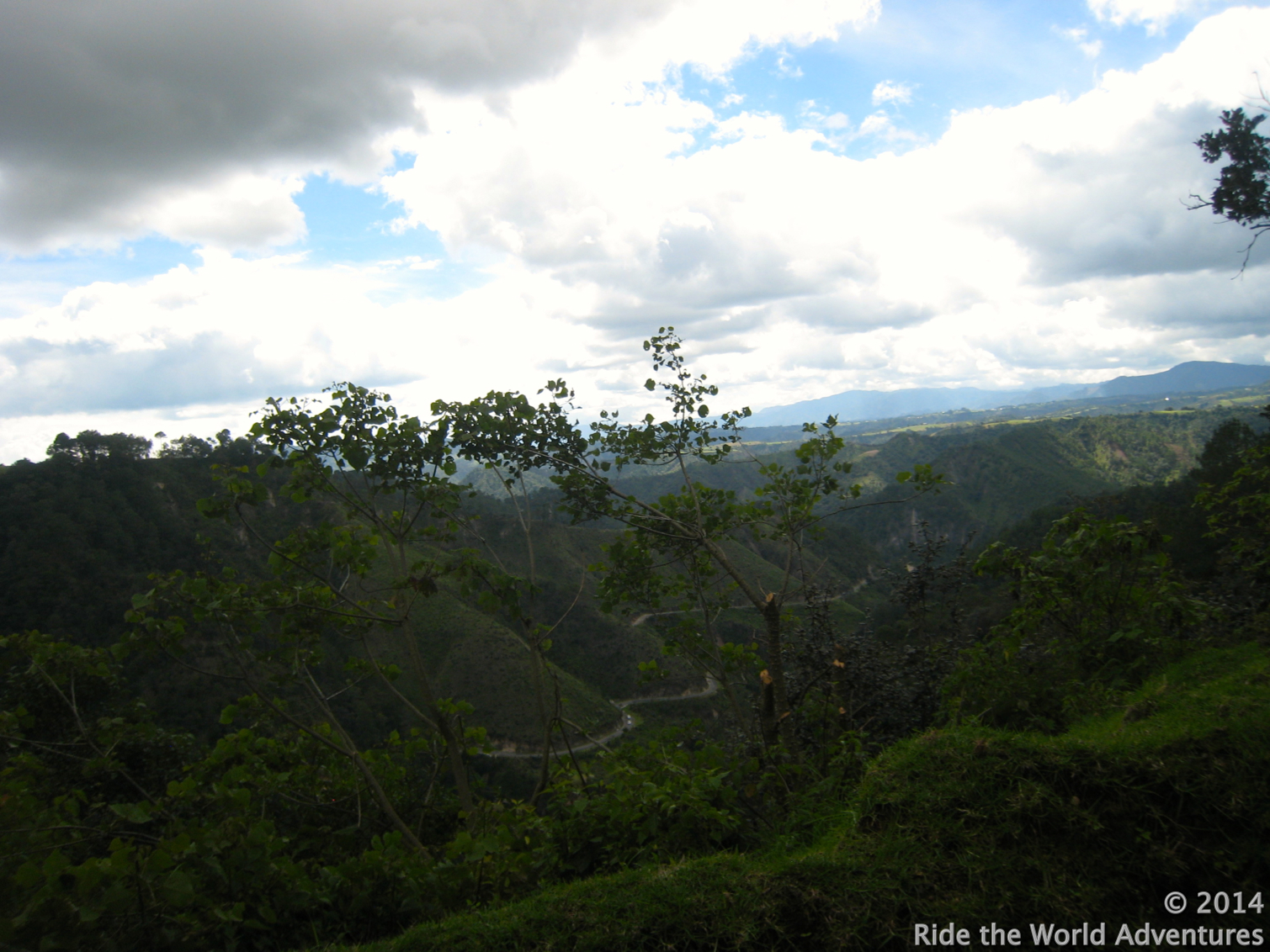 Beautiful Guatemalan countryside