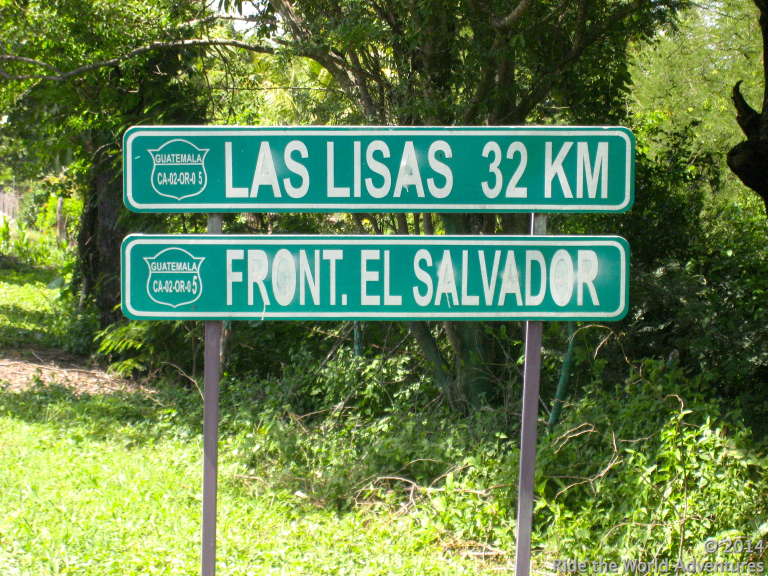 El Salvador is not far away