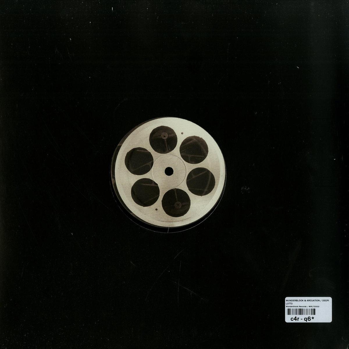 """[vinyl 12""""] Wunderblock / Arcuation - Lotto EP"""