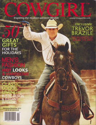 Cowgirl Magazine  Nov/Dec 2012