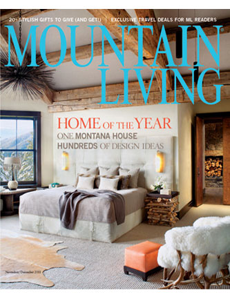 Mountain Living Magazine  2011 Nov/Dec