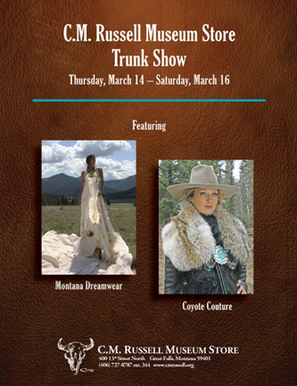 C.M. Russell Museum   Trunk Show and Juried Artist
