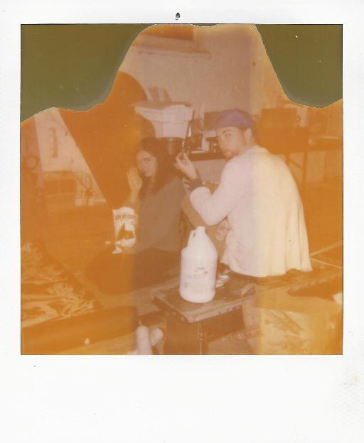 SADIE & ANDY AT RUNAWAY STUDIO