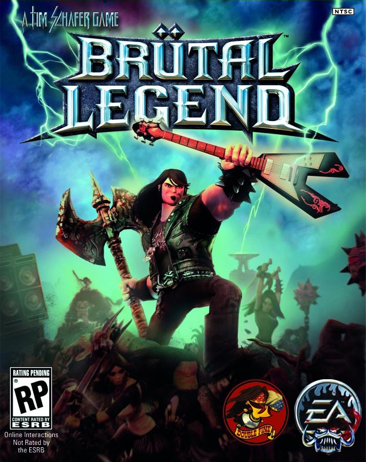 Copy of Brutal Legend (2009 - PS3, X360)