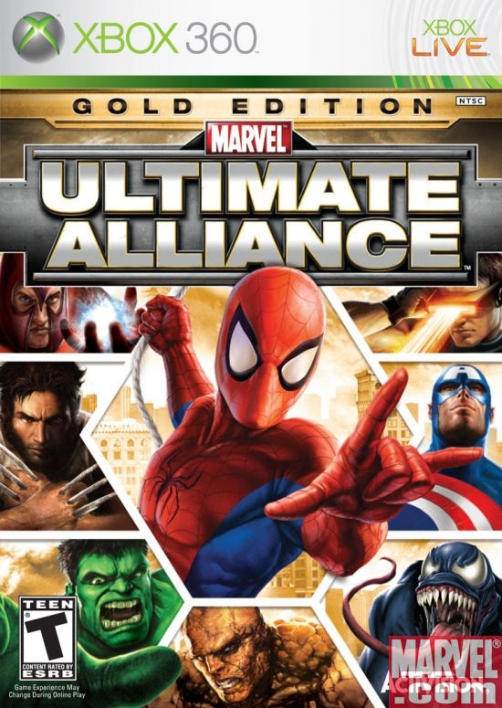 Copy of Marvel Ultimate Alliance - DLC Characters (2007 - Ps3/x360)