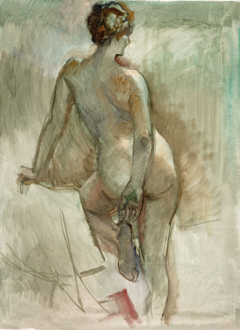 """The Lost Nude"""