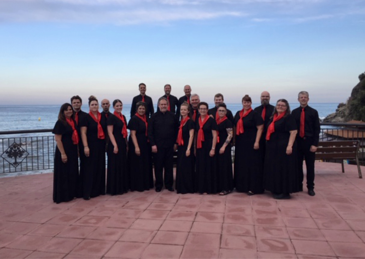 The Winnipeg Singers, July 2019, Lloret de Mar, Spain