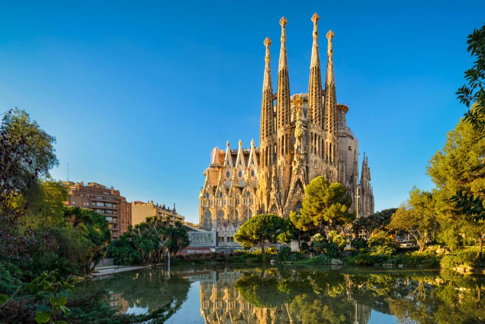 Basílica de la Sagrada Famillia, Barcelona, Spain