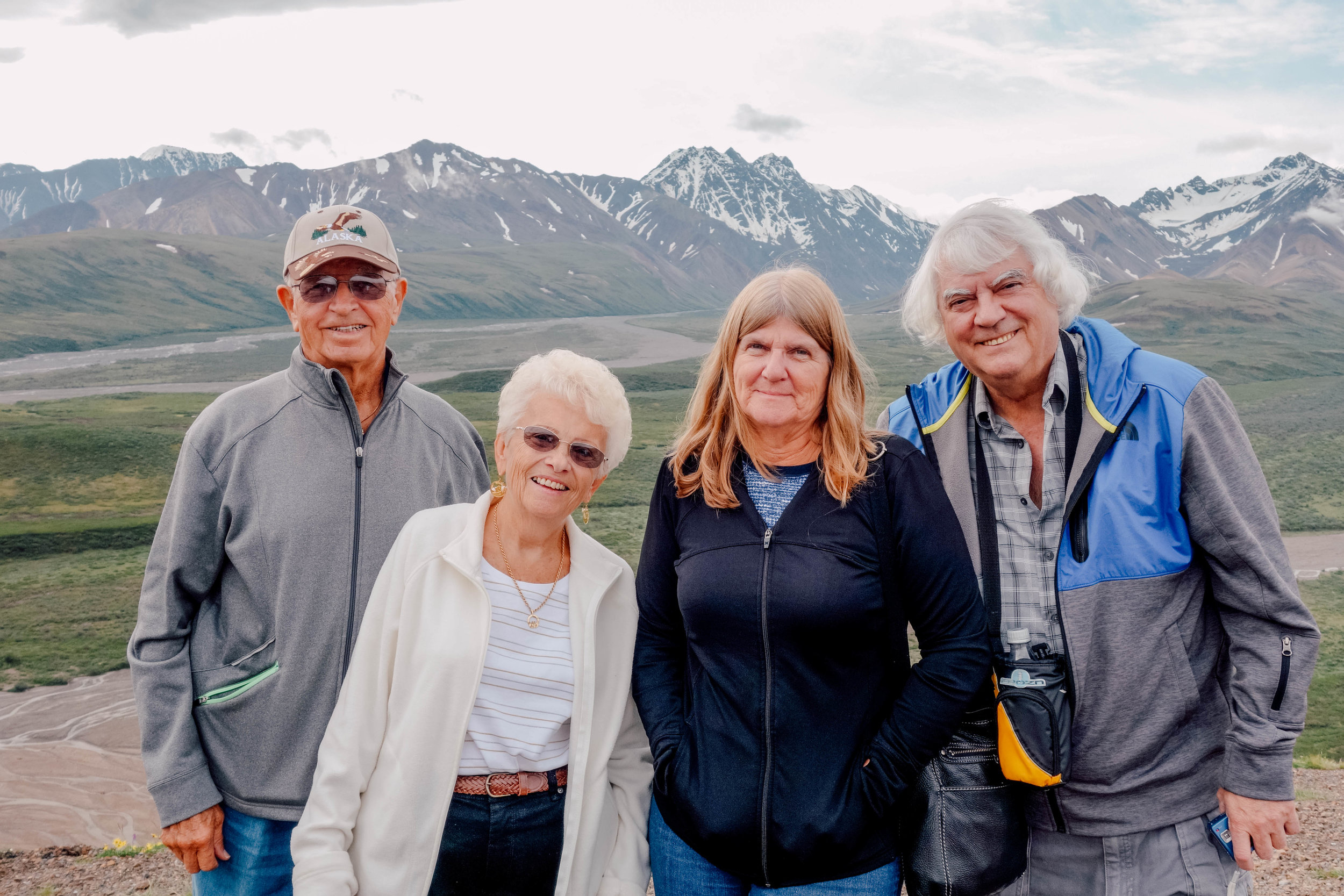 """""""Great trip! Very happy I went on this trip because I saw so much with a great group of people. New and old friends alike!""""– Adult group cruise to Alaska -"""