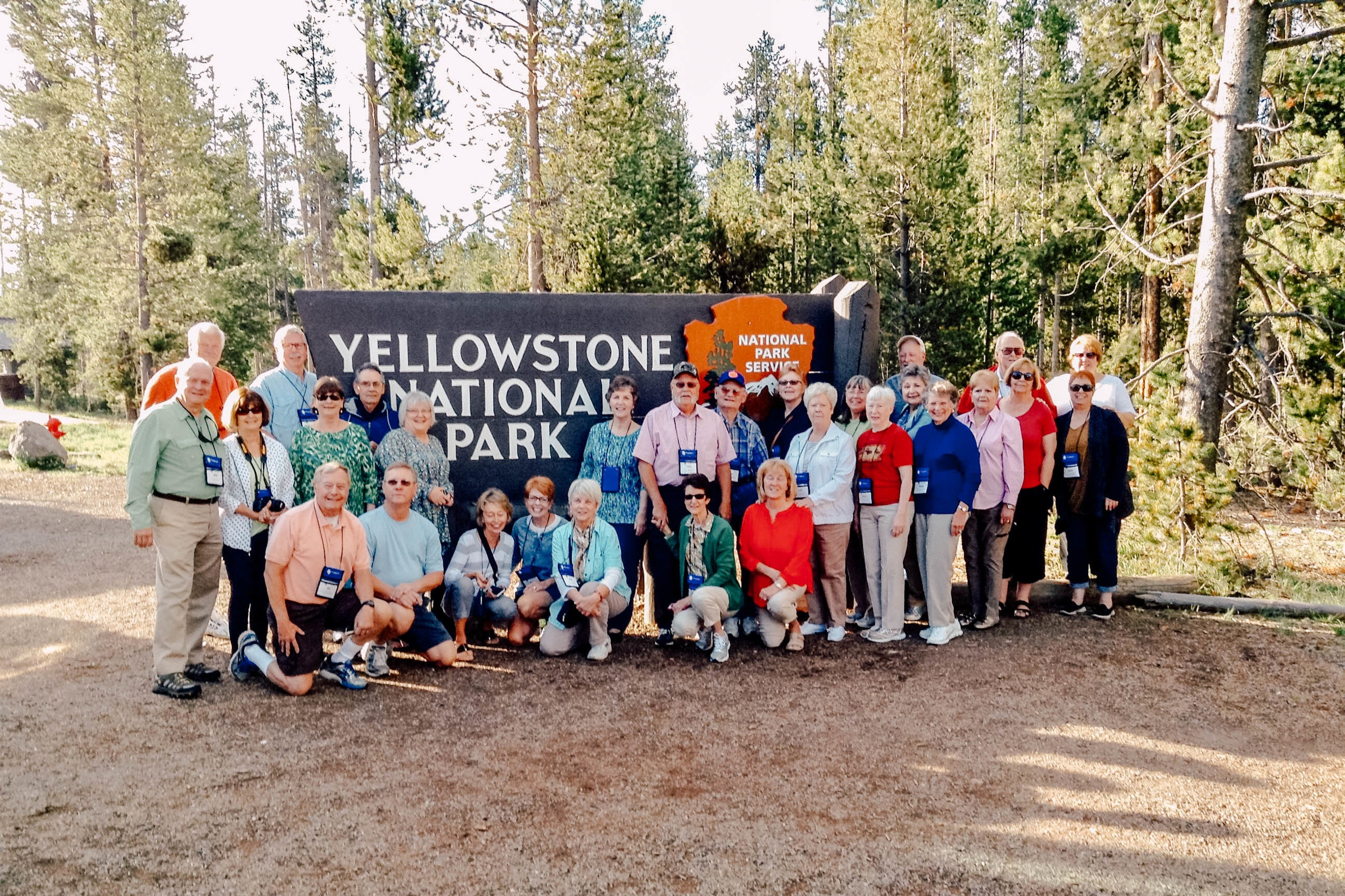 """""""So many wonderful Experiences. Connie is so positive and enthusiastic no matter what the weather. Thank you for doing our trip!'""""– Adult group to Western US Parks -"""