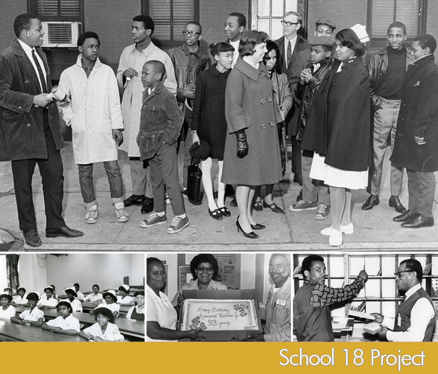 Provident Hospital: circa 1960's-judging from young man's attire that is second from right. Bottom photos are approx. early 1980's