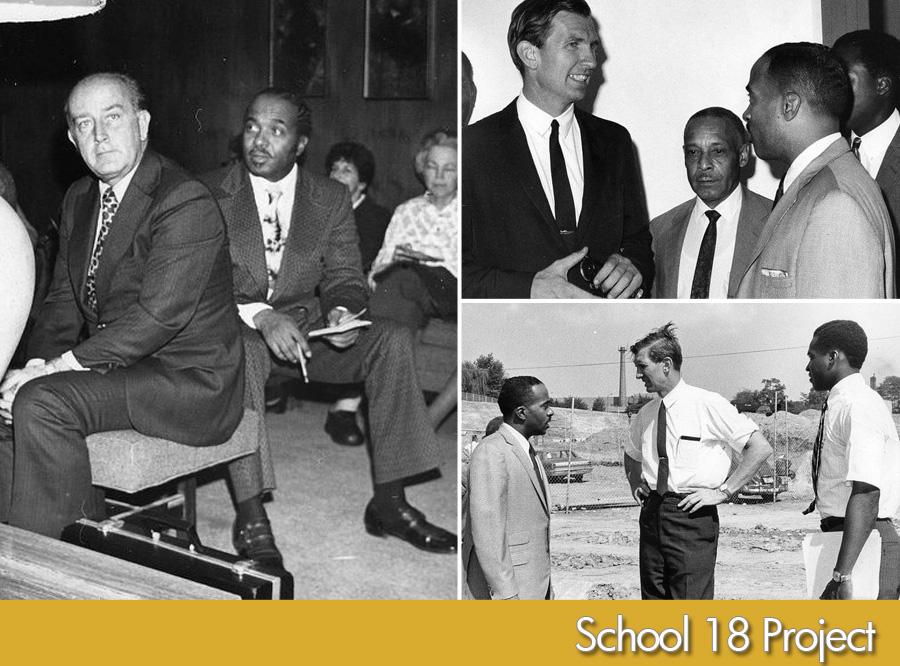 Mayor William D. Schaefer and Charles G. Tildon, Jr. circa early 1970's | Top right photo: US Senator Joseph Tydings | Bottom photo: Charles Tildon, Senator Tydings