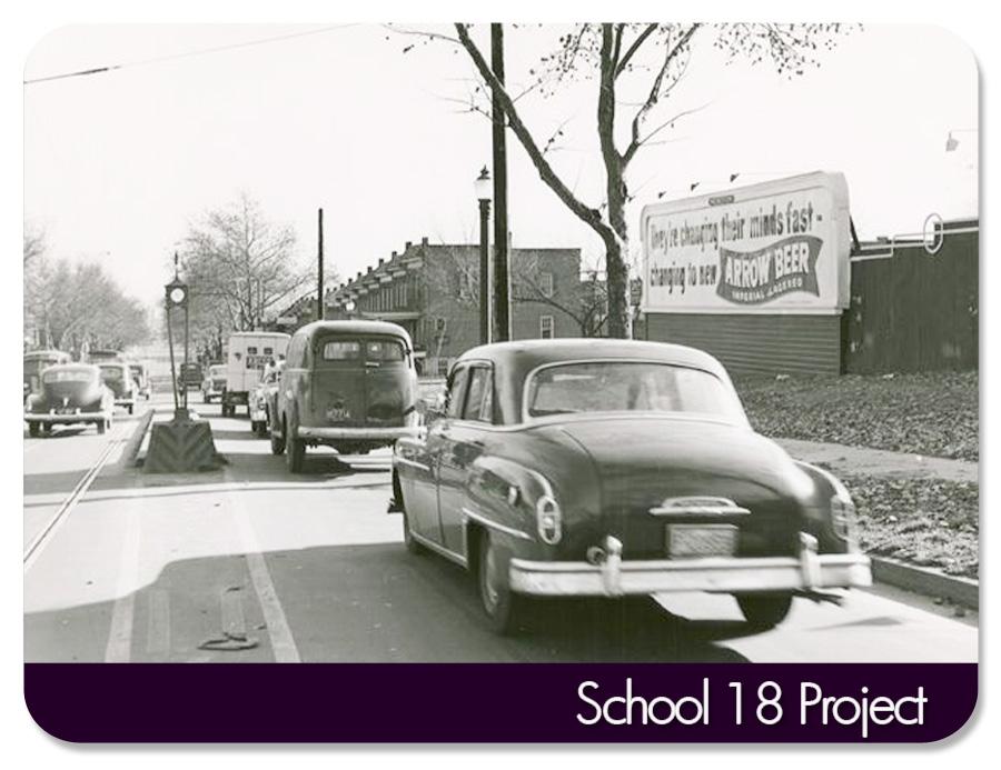 Gwynns Falls Parkway - going towards Mondawmin...circa approx 1940s