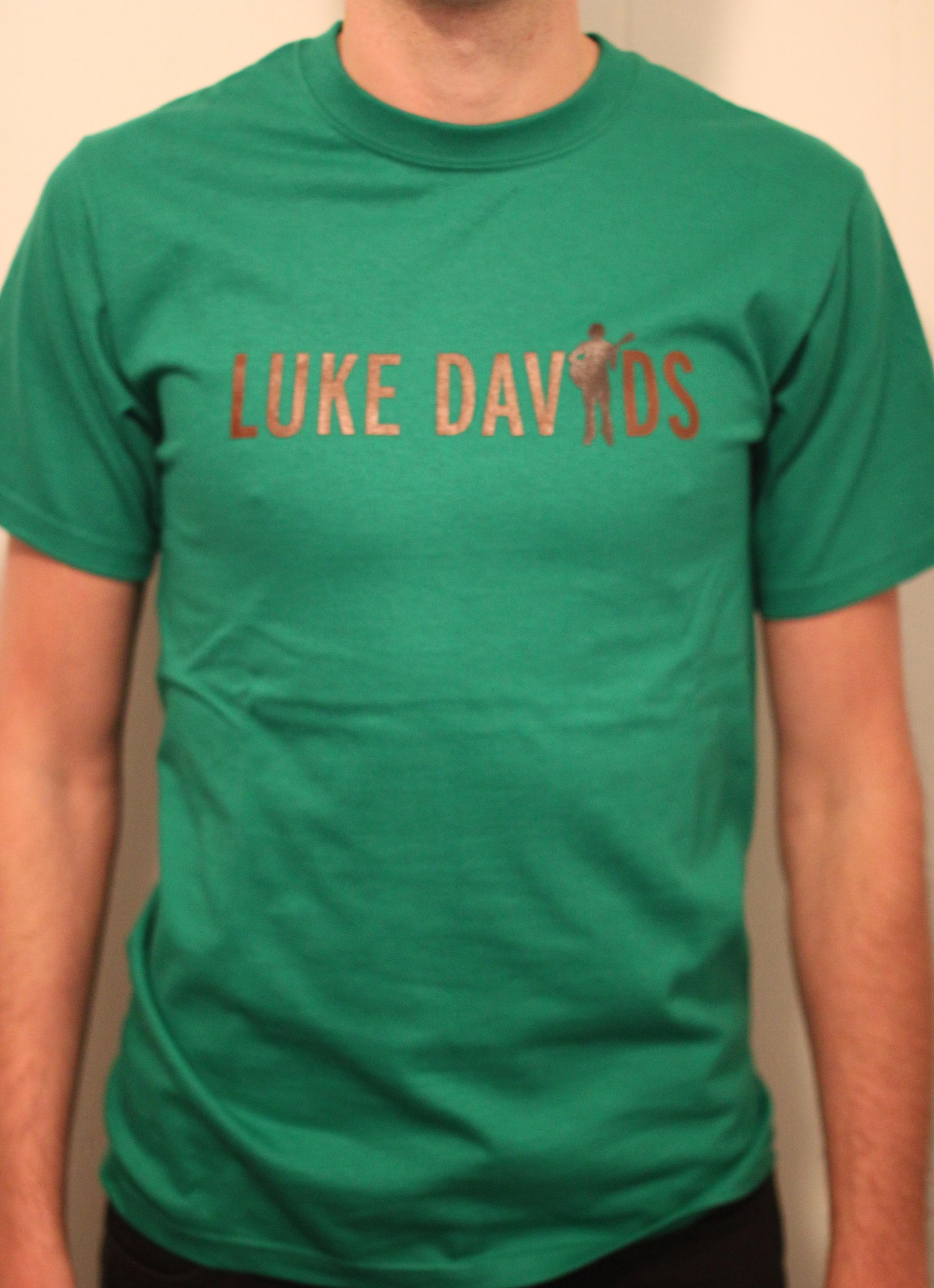 Luke Davids Tee Shirt Green