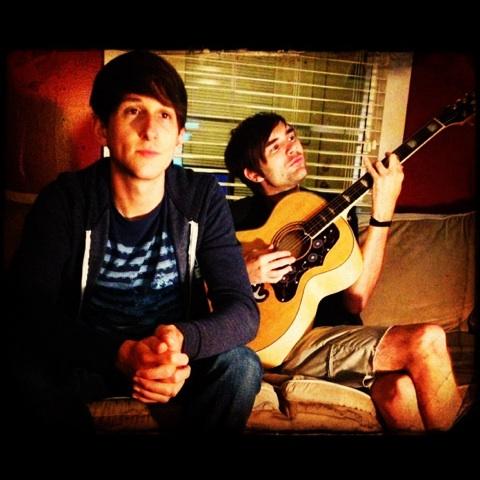 Luke Davids and Brooks Paschal