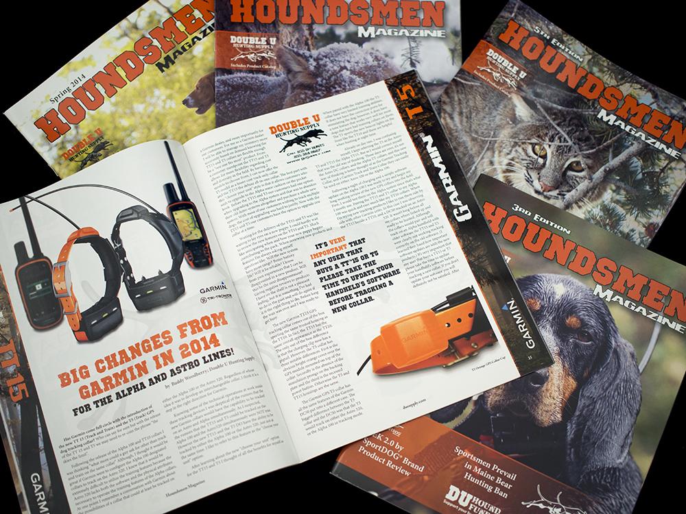 Houndsmen Magazine Layout