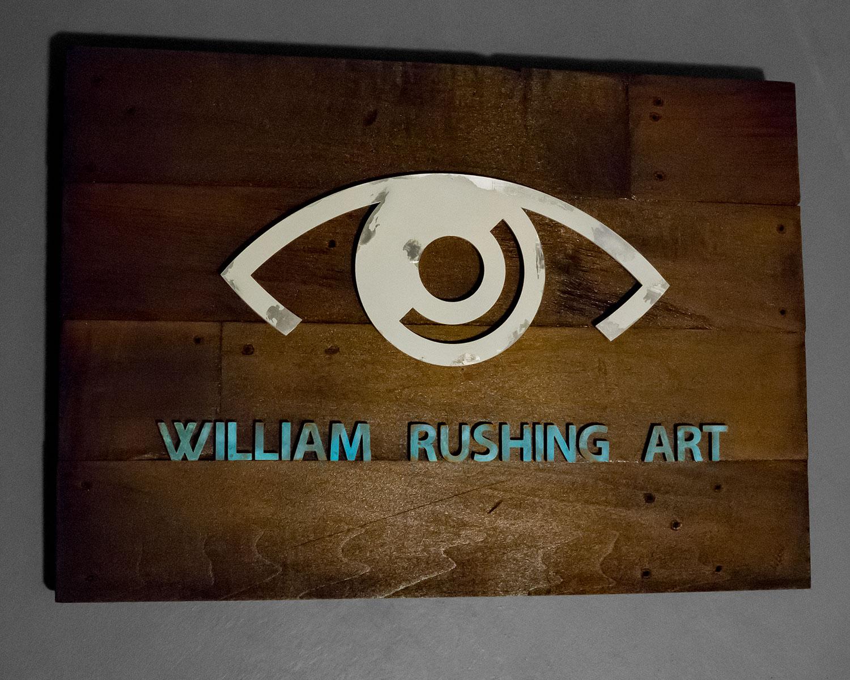 William Rushing Art Logo